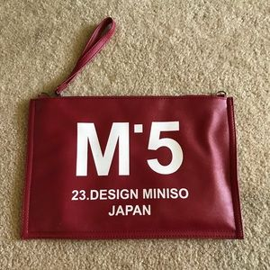 Cute Burgandy Bag